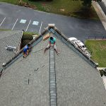 Ridge Cap Shingles Installation